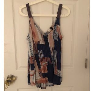 ANTHROPOLOGIE tunic tank top